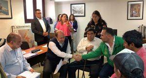 Barbosa, dispuesto a avalar creación de centro ejidal en Chignahuapan: UNTA