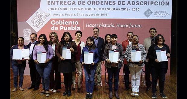 SEP de Puebla concreta 530 cambios de adscripción a docentes