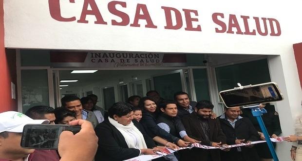 Pérez entrega Casa de Salud en la Lázaro; recuperar valores, ofrece