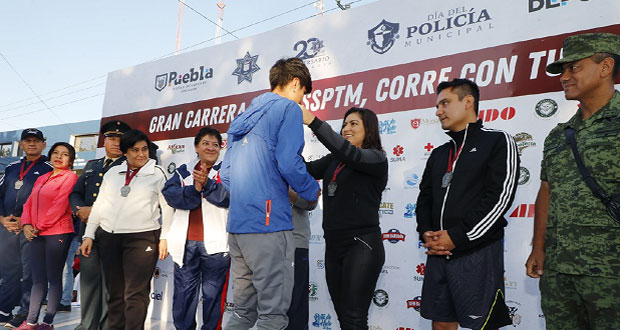 Ssptm celebra Día del Policía Municipal con carrera de 5 kilómetros