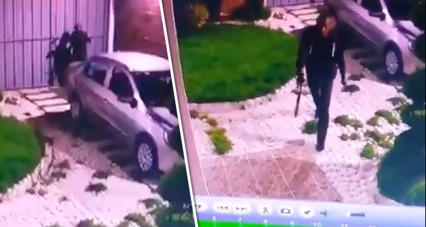 Vecino reconoce a uno de los tres sujetos que robaron en Agua Azul