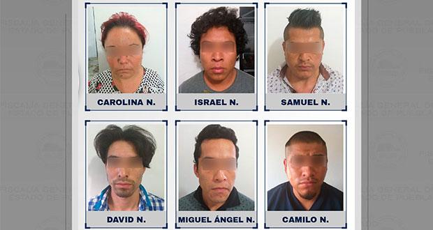 Vinculados a proceso seis por narcotráfico en Xicotepec de Juárez
