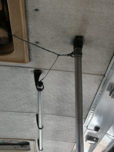 Con asientos rotos y cinta en vidrios circulan algunas rutas del transporte