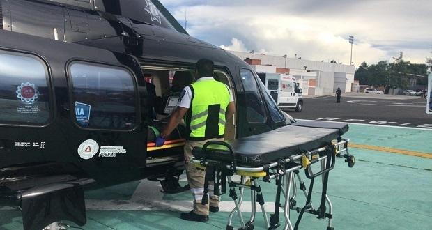 Aeronaves del gobierno brinda 58 servicios de ambulancia en agosto