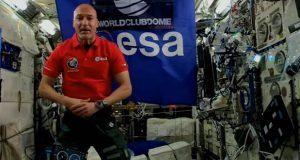 Astronauta hace historia convirtiéndose en el primer DJ espacial
