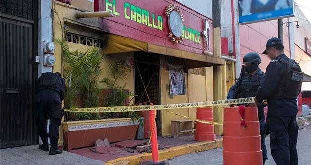 Suman 29 muertos por ataque a bar en Veracruz; entregan 26 cuerpos