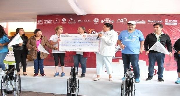 Comuna de San Andrés dona 25 mil pesos a Asociación Parkinson