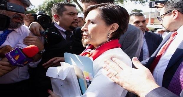 """Rosario Robles, vinculada a proceso por """"La Estafa Maestra"""" y va a prisión"""