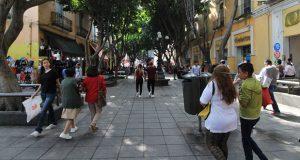 Segom implementa operativo en corredor 5 de Mayo de Centro Histórico