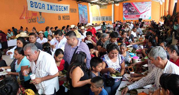 Se realiza demostración gastronómica en Feria de Huitzilan de Serdán