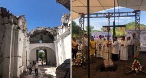 Tras derrumbe de iglesia en 2017, construirán una nueva en Atzala