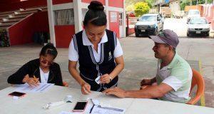 Realizan jornada de detección de problemas de próstata en Huitzilan