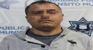 Detiene a un sujeto por robos a Bancoppel del Centro y La Margarita