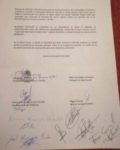 Acusan afectación en Juan C. Bonilla por descargas y logran prohibirlas