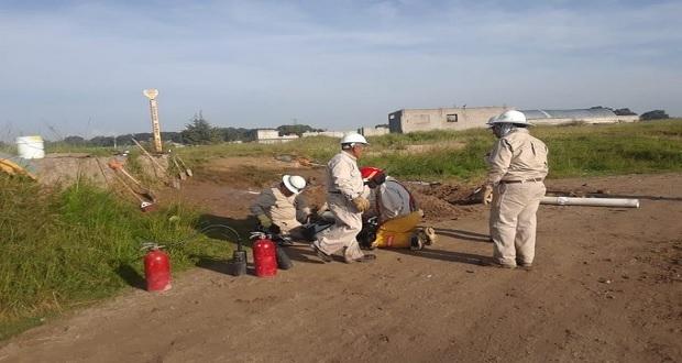 Por fuga de gas LP suspenden clases y evacuan a 100 habitantes de Chachapa