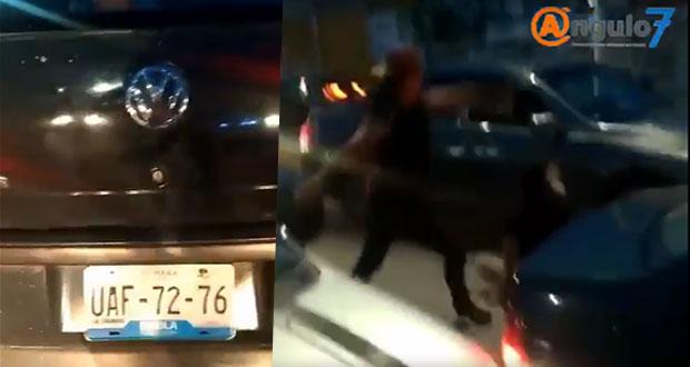 Sujeto es golpeado y acompañante del agresor lo arrolla en Chachapa