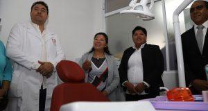 Con inversión de 718 mp, inauguran casa de salud en San Andrés