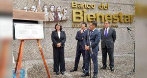 Con meta de atender a más pobres, inauguran el Banco del Bienestar