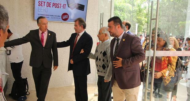 Reinauguran entrada principal e instalan videovigilancia en Ibero