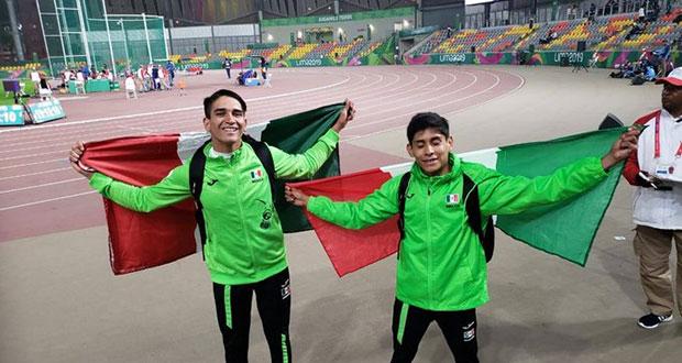Con 72 medallas, México es tercero en Juegos Parapanamericanos Lima