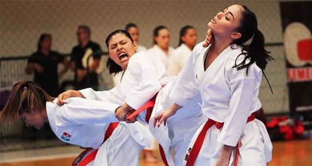 Karateca Victoria Cruz da a Puebla medalla de plata en Juegos Panamericanos