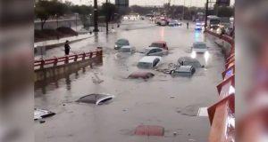 Fuertes lluvias en Nuevo León dejan dos muertos e inundaciones