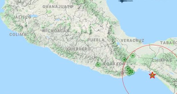 Sismo de 5.5 grados en Chiapas fue imperceptible en Puebla: SGG