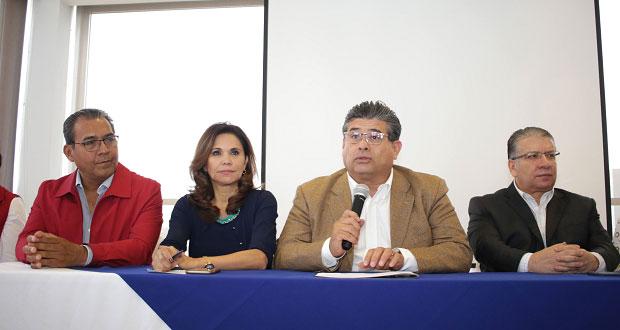 Priistas en Puebla cierran filas con Moreno, virtual ganador de CEN del PRI