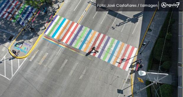 Conapred da razón a Comuna; paso peatonal incluyente no afecta seguridad vial