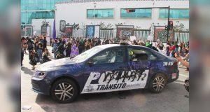No habrá denuncia por daños a patrulla en manifestación feminisita