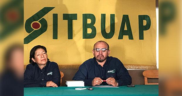 Prevén registro de seis planillas en renovación de Sitbuap
