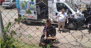 Acusan a policías de San Martín Texmelucan de golpear a sujeto
