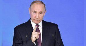 Por dejar tratado, Putin advierte a EU sobre carrera armamentista