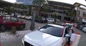 Siguen robos en zona de Angelópolis; ahora en estacionamiento de plaza Marsala