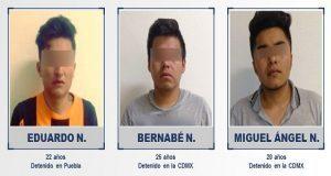 Vinculan a proceso a tres por secuestro de colombiano en Puebla