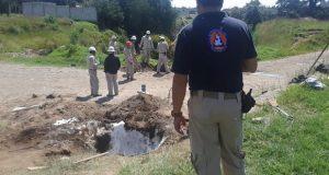 Tras 8 horas, sellan fuga de gas en Chachapa; habitantes pueden regresar