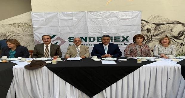 Sindemex pide auditar a funcionarios, extitulares y hasta ediles