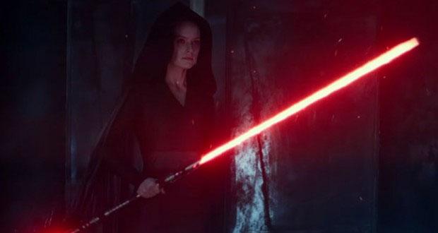 Rey sorprende en el lado oscuro ¿Ya viste el tráiler de Star Wars?