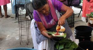 40 mil tamales en Huitzilan, tradición en la Feria de Huitzilan