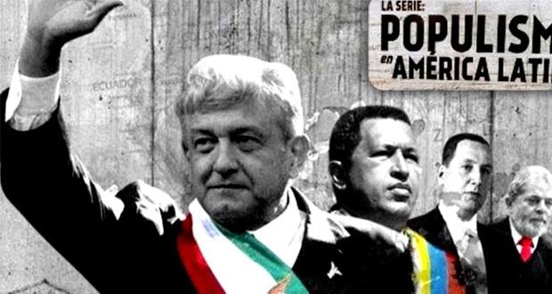 """Tepjf amplía sanciones a serie """"Populismo"""" por campaña contra AMLO"""