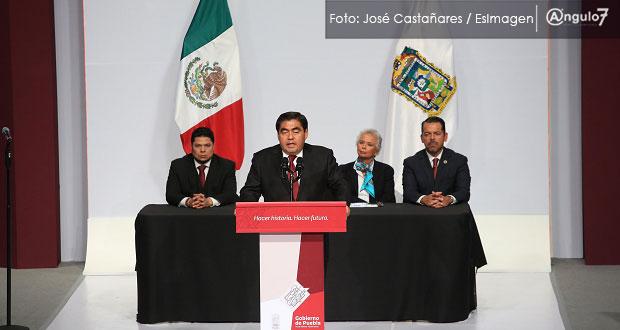 En Puebla, la coyuntura política terminó y se gobernara para todos: Barbosa