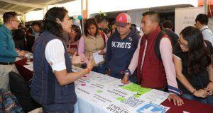 Ofertan 1,268 vacantes en Feria del Empleo de San Andrés Cholula