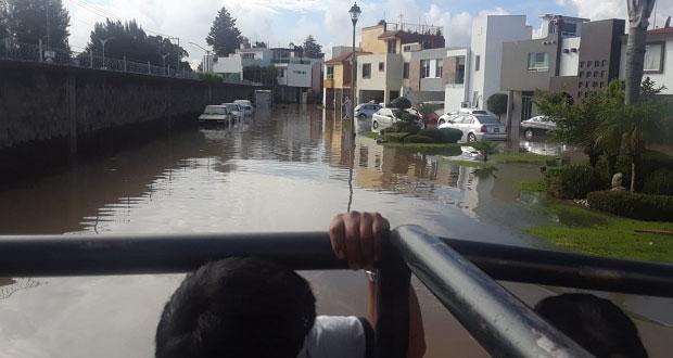 180 viviendas en Cuautlancingo resultan afectadas por inundaciones