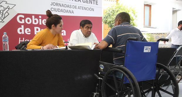 Acuden 400 poblanos a Casa Aguayo por Jornada de Atención Ciudadana. Foto: Especial