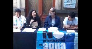 Exigen a diputados participar en foro de agua y revertir ley morenovallista