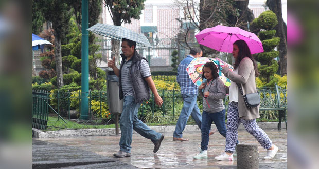 Aumenta potencial de lluvias en Puebla para próximas 72 horas: PC