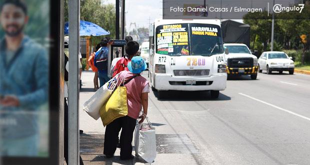 Aumento de pasaje no será de 2.5 pesos; se basará en media regional: Barbosa