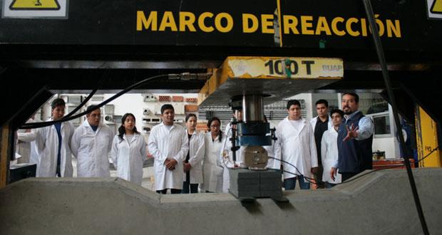 Desarrollan en BUAP materiales que garanticen resistir sismos