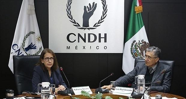 CNDH exige priorizar a migrantes sobre acuerdos comerciales