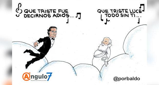 Caricatura: Adiós, José José